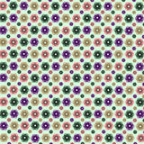 Abstract frame pattern flower seamless beauty summer pattern abstract seamless decoration spiral stock illustration