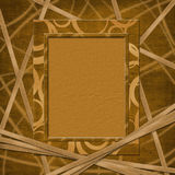 Abstract frame for photo or  greeting Royalty Free Stock Photos
