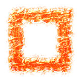 Abstract frame. For photos or pictures on a white background Royalty Free Stock Image
