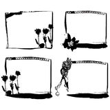 Abstract frame set vector Stock Images