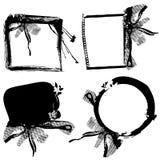 abstract frame set vector Στοκ φωτογραφία με δικαίωμα ελεύθερης χρήσης