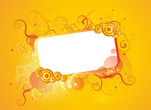 Abstract frame for text Royalty Free Stock Image
