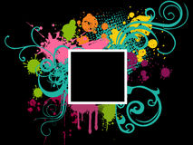 Abstract frames background Stock Photos