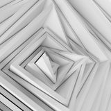 Abstract frames background. Abstract randomized square volumetric frames background. Ambient wallpaper Royalty Free Illustration