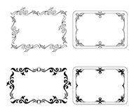 Abstract Frames, Set Stock Images