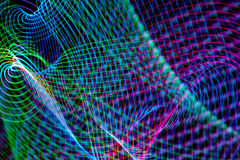 Abstract freezelight curves Royalty Free Stock Photos