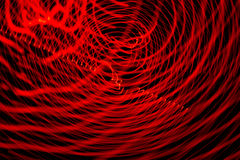 Abstract freezelight curves Stock Images