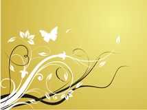 Abstract fresh floral background Stock Photo