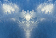 Abstract frost. Abstract photo of  winter frost Royalty Free Stock Photography