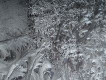 Abstract frost texture Stock Photography