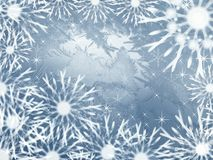 Abstract frosty background stock photos