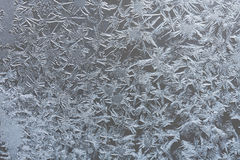 Abstract frosty pattern on glass Royalty Free Stock Photo