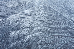 Abstract frosty pattern on window glass Royalty Free Stock Photography