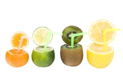 Abstract fruits drink Stock Photo