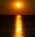 Abstract full moon Royalty Free Stock Photo