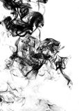 Abstract fume on the white background Stock Image