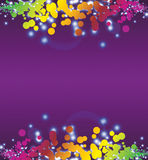 Abstract fun background Stock Image