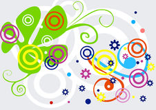 Abstract funky background Royalty Free Stock Photos