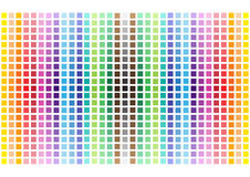 Abstract funny rainbow squares background Stock Photo