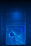 Abstract future digital science technology concept Stock Images