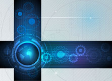 Abstract future digital science technology concept Royalty Free Stock Image