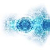 Abstract future hi-speed technology background, vector illustration royalty free illustration