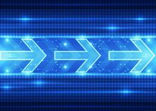 Abstract future speed technology system background, vector illustration Royalty Free Stock Photo