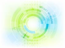 Abstract future technology  background Royalty Free Stock Photo