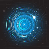 Abstract future technology concept background Stock Photos