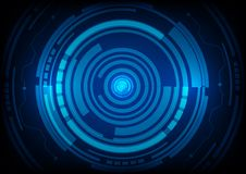 Abstract future technology concept background vector illustration