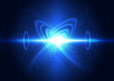 Abstract future technology power system background,  illustration Stock Images