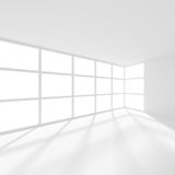 Abstract Futuristic Architecture Background. Minimal Office. 3d Render of White Building Construction. Abstract Futuristic Architecture Background. Minimal Stock Image