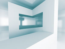 Abstract Futuristic Architecture Element Design Background Royalty Free Stock Photography