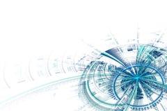 Abstract futuristic background stock illustration