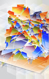 Abstract futuristic background. Royalty Free Stock Photography
