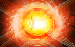 Abstract futuristic background. Picture of an Abstract futuristic background stock illustration
