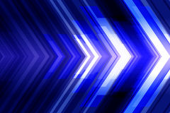 Abstract futuristic background with arrows. Stock Image