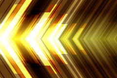Abstract futuristic background with arrows. Royalty Free Stock Image