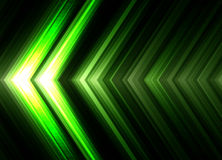 Abstract futuristic background with arrows. Royalty Free Stock Photography