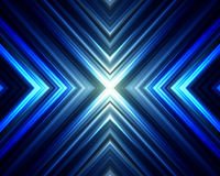 Abstract futuristic background with arrows. Royalty Free Stock Images