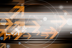 Abstract Futuristic Background With Arrows Stock Photos