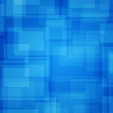 Abstract futuristic background. Blue rectangles Royalty Free Stock Photography