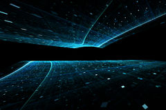 Abstract futuristic background Stock Photos