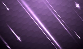 Abstract futuristic background with shooting stars Royalty Free Stock Photo