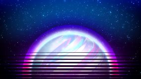 Abstract futuristic background with Space, holographic Sun, for data and technology concept with virtual reality effect. Abstract tech modern futuristic vector illustration