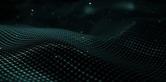 Abstract Futuristic Background. Technology Concept stock illustration