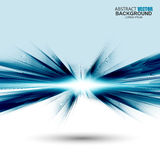 Abstract futuristic blue wavy background Royalty Free Stock Image