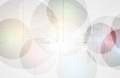 Abstract futuristic computer technology business background. Abstract futuristic fade computer technology business background Stock Images