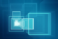 Abstract futuristic 3D background Royalty Free Stock Image