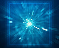 Abstract futuristic 3D background Royalty Free Stock Images